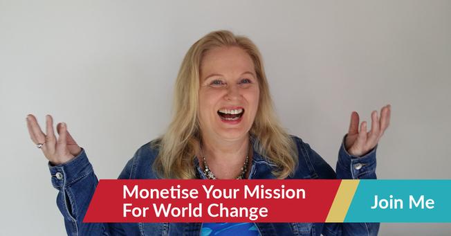 Desktop fb ad monetise your mission for world change