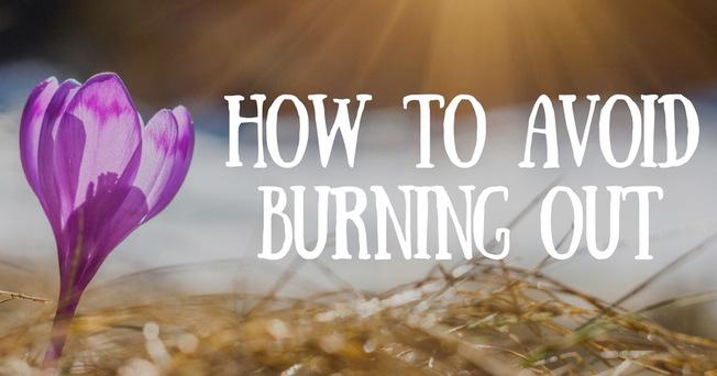 Desktop avoid burning out