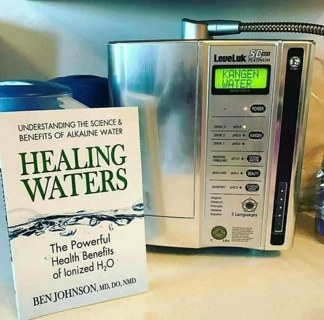 Desktop kangen sd501 machine healing waters
