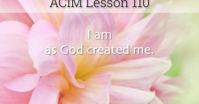 Desktop acim lesson 110 workbook quote wide
