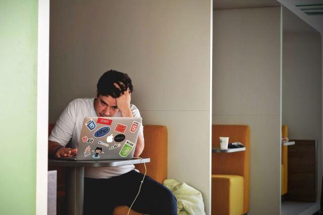Desktop stressed