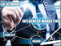 Desktop influencer marketing