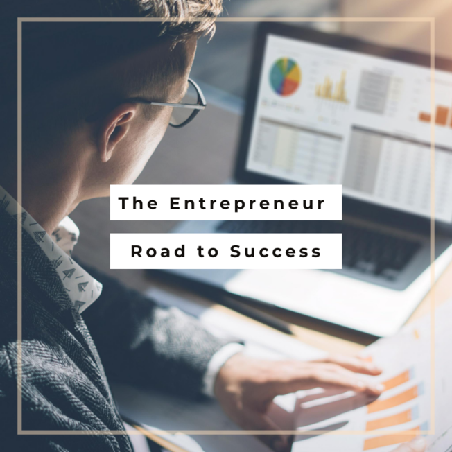 Desktop the entrepreneur road to success