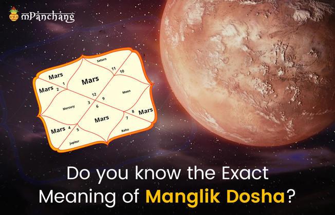 Manglik dosha meaning