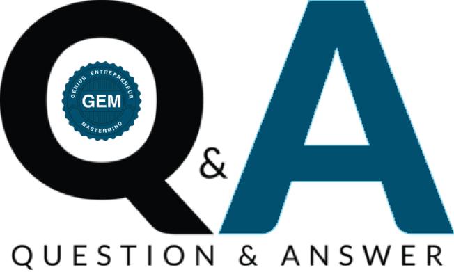 Desktop q and a logo