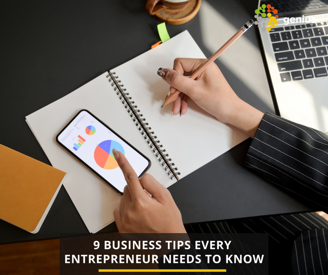 Desktop 9 business tips