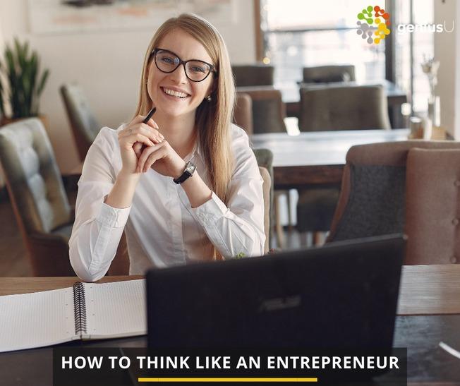 Desktop think like an entrepreneur