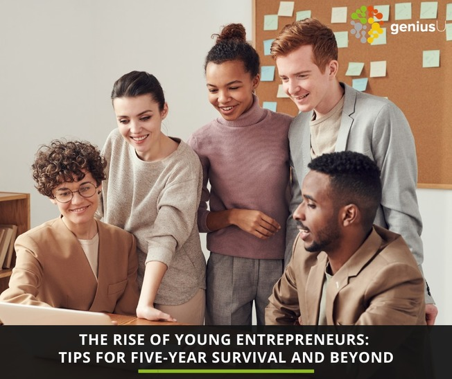 Desktop rise of young entrepreneurs