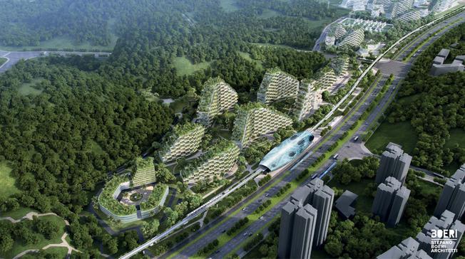 Desktop liuzhou forest city