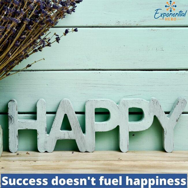 Desktop success doesn t fuel happiness