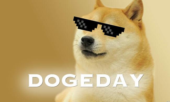 Desktop dogecoin dogeday