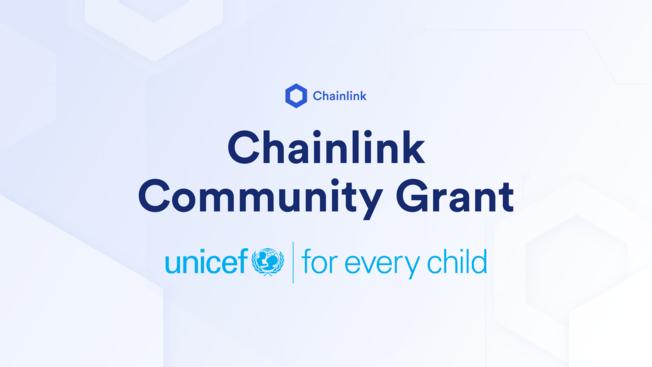 Desktop chainlink community grant unicef v1