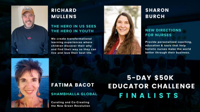 Desktop education challenge finalists