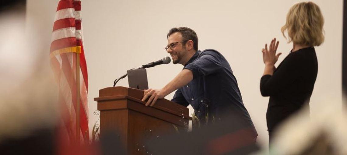 Desktop joe martin art institute commencement speech