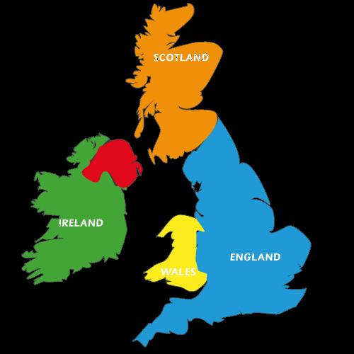 Desktop uk map