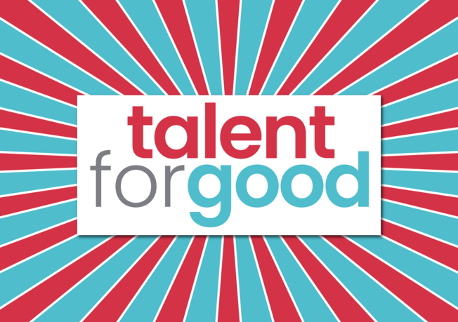Desktop talent for good logotype 24