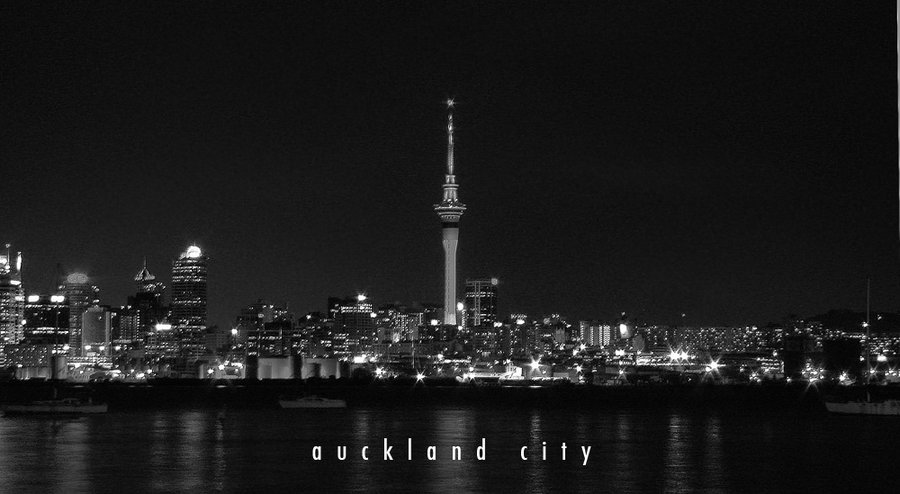 Auckland city  city of sails by envy07