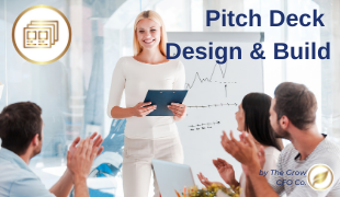 Pitch deck design   build   welcome page