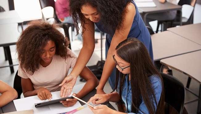 Desktop teacher student formative assessment