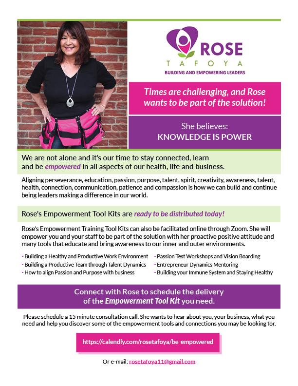 Desktop rosetafoya flyer
