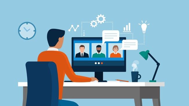Desktop remote work software developers