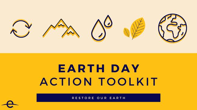 Desktop earth day action toolkit header