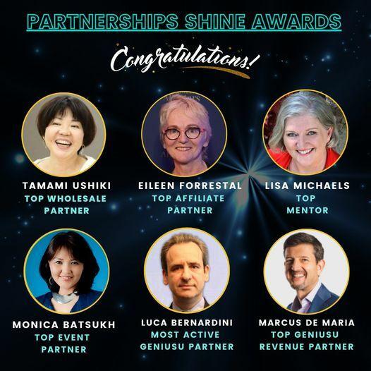 Desktop shine award winners