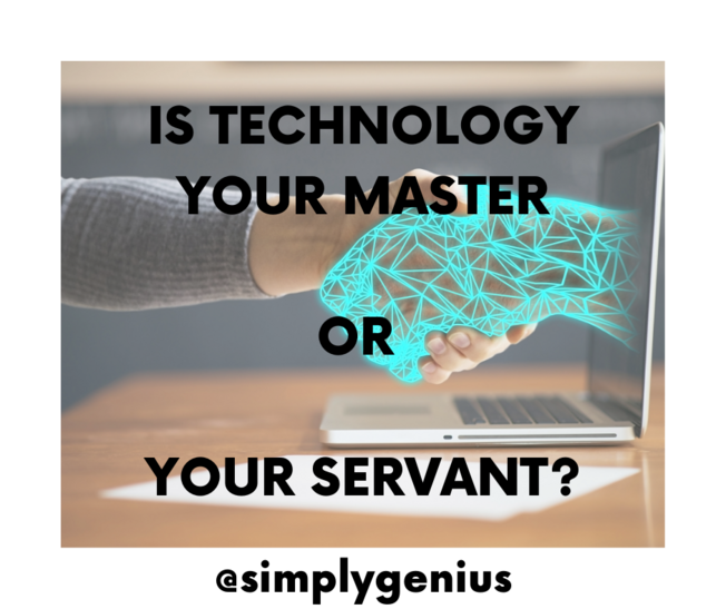 Desktop is technology your master or your servant  1