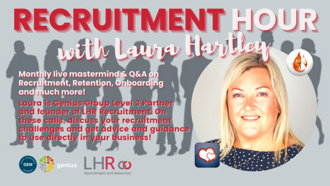 Desktop recruitment hour   laura hartley