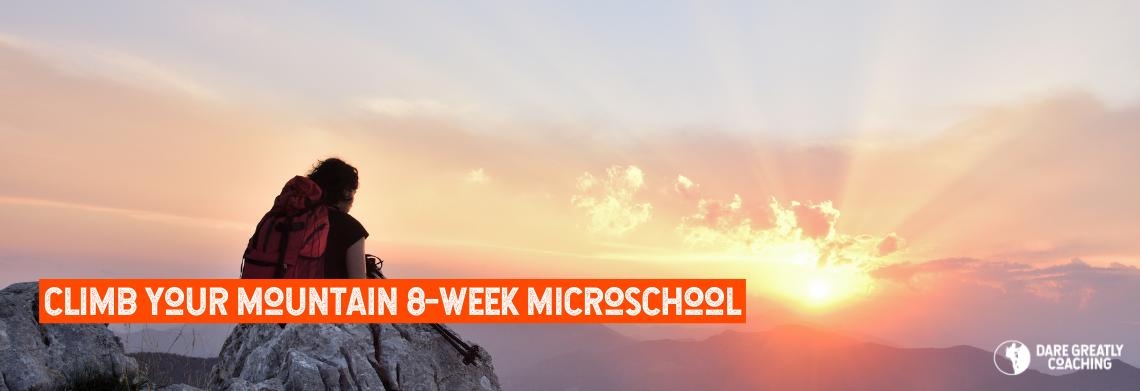 Show 202106109   climb your mountain 8 week microschool