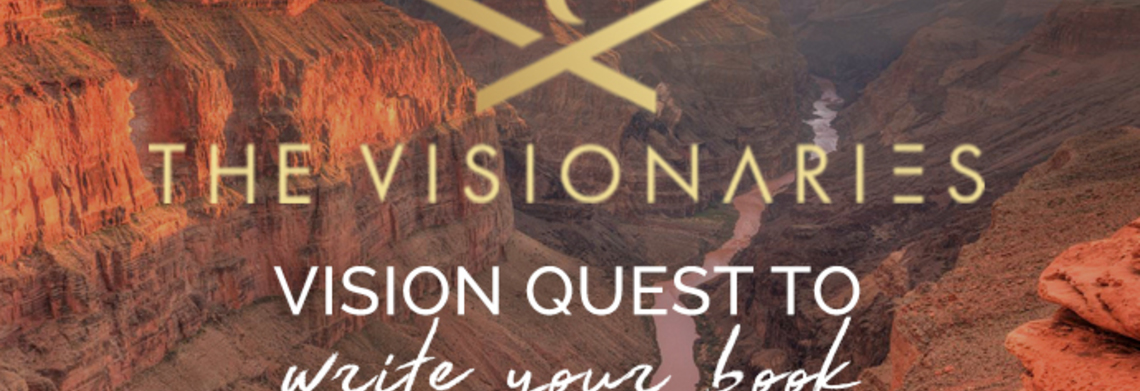 Show vision quest to write your book