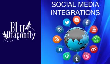 Influex store social media integrations
