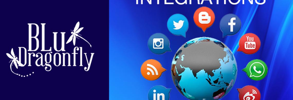 Show social media integrations