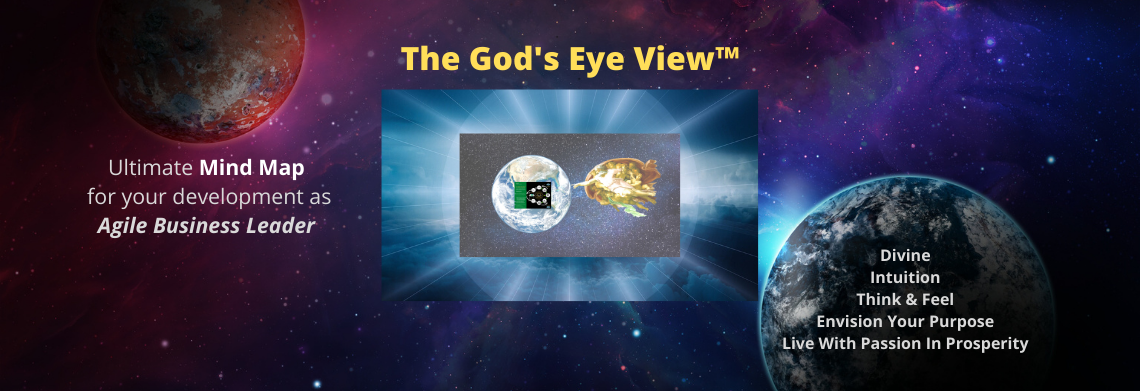 Show the god s eye view  ultimate mind map product banner